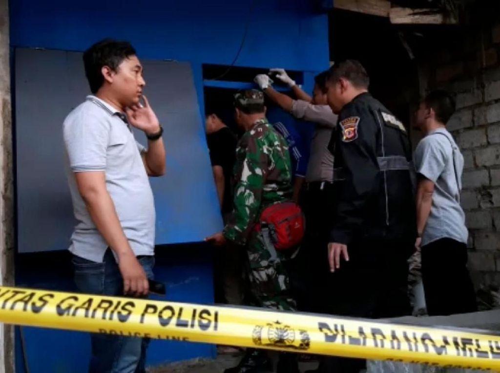 Terduga Pembunuh Pemilik Warung di Sukabumi Terekam Melalui CCTV