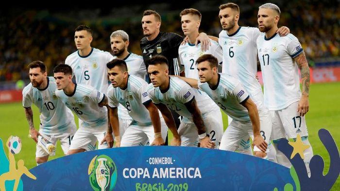UEFA bantah mengundang Argentina untuk ikut di UEFA Nations League (Foto: Ueslei Marcelino / Reuters)