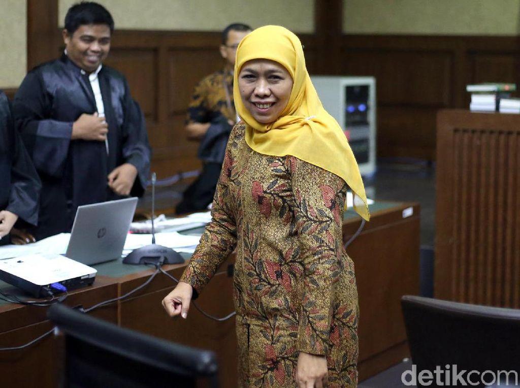 Khofifah Bersaksi di Sidang Kasus Suap Jabatan Kemenag