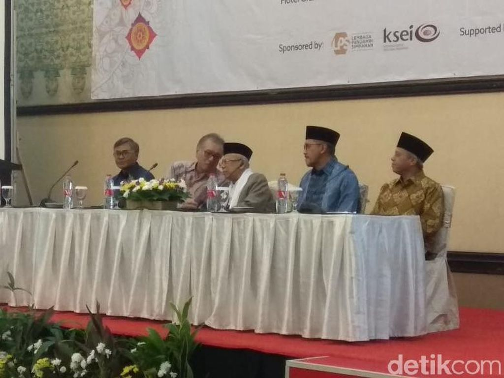 Maruf Amin Kumpul Bareng BI dan LPS Bahas Keuangan Syariah