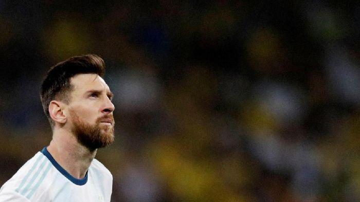 Lionel Messi belum bergabung dengan Barcelona. (Foto: Ueslei Marcelino/Reuters)