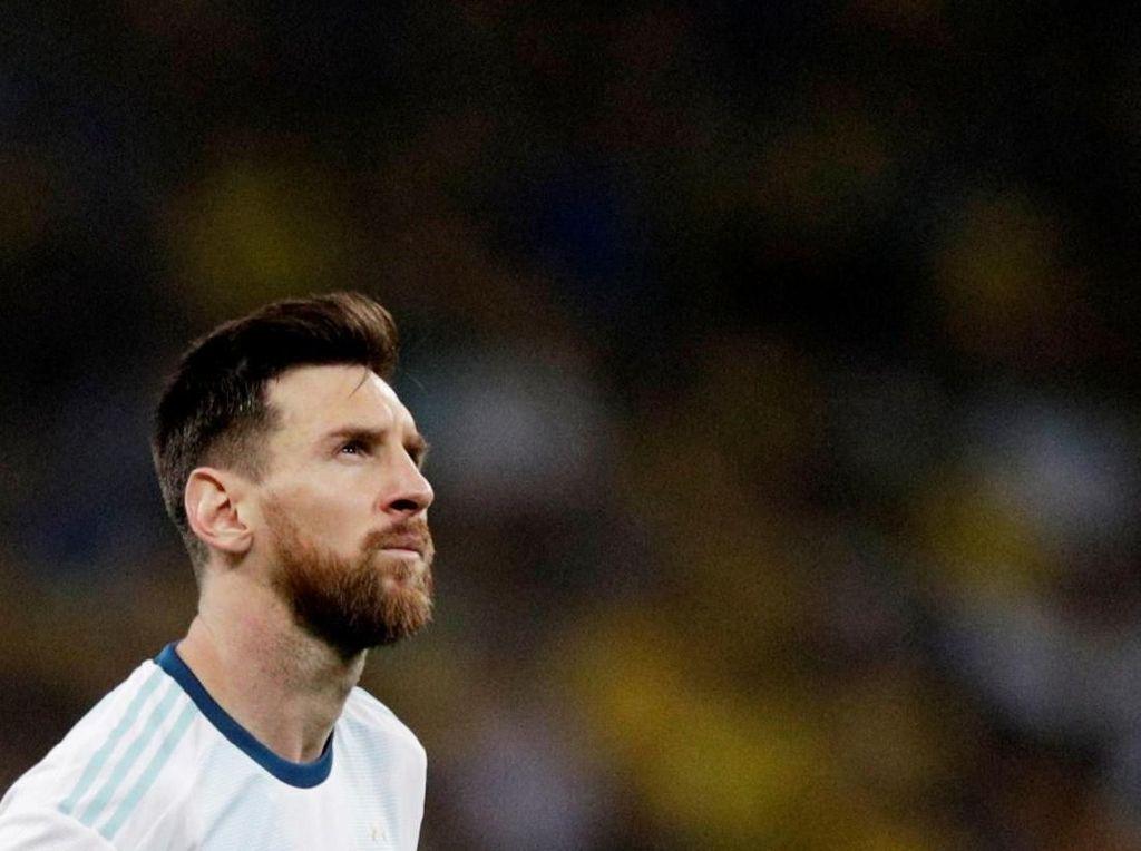 Messi-nya Argentina Tak Pernah Juara di Sembilan Turnamen