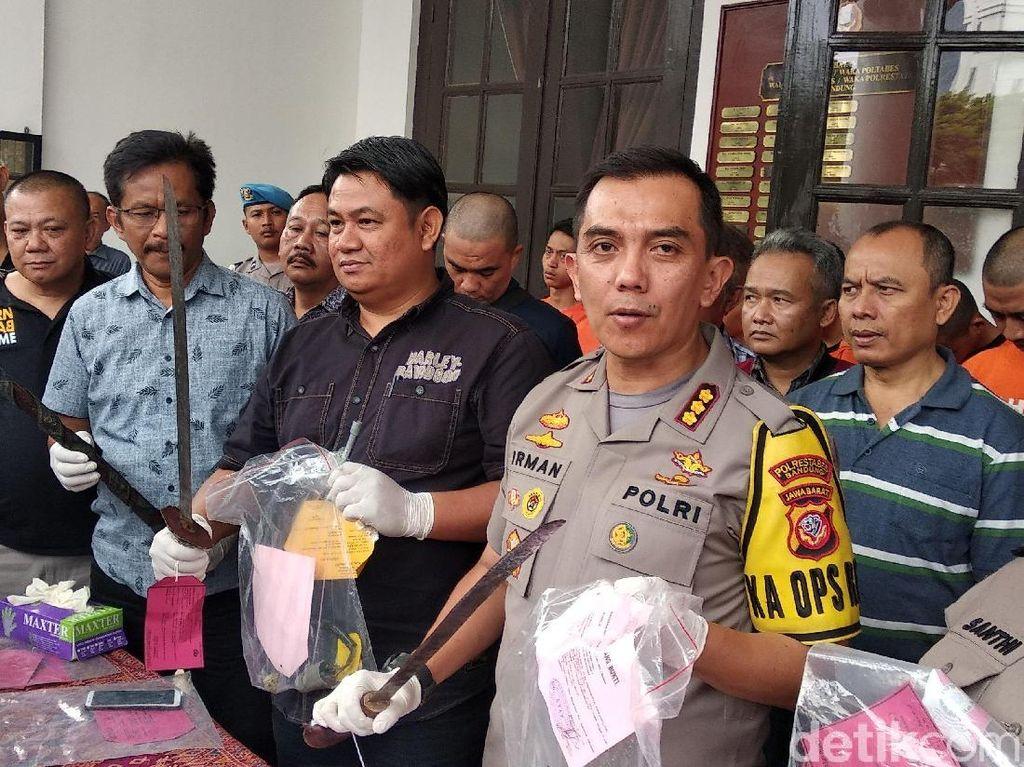 Dua Pekan, Polisi Bekuk 52 Penjahat di Bandung