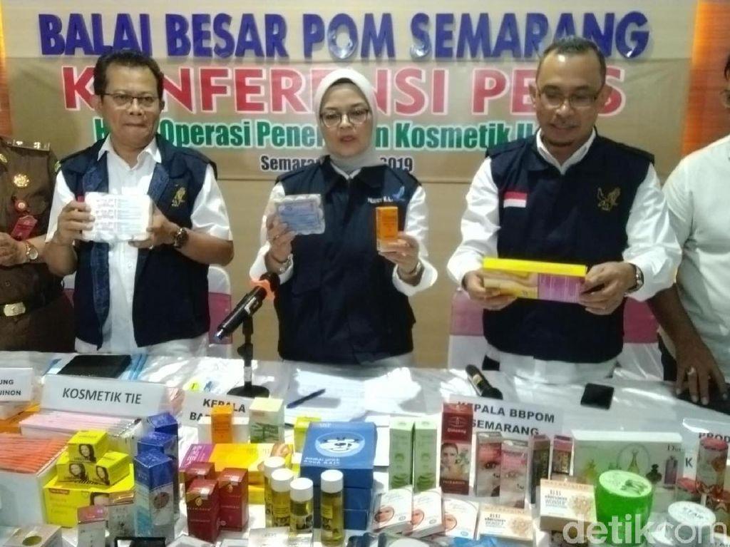 BPOM: Kosmetik Ilegal Banyak Beredar Secara Online