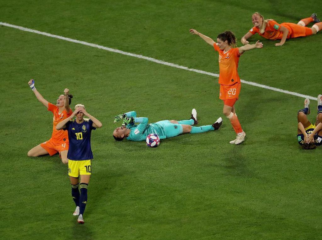 Belanda Tantang AS di Final Piala Dunia Wanita Usai Tekuk Swedia 1-0