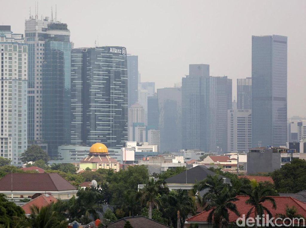 Pantauan AirVisual: Polusi Udara Jakarta Hari Ini Kian Parah