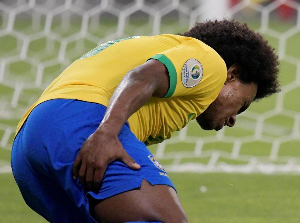 Cedera, Willian Lewatkan Final Copa America 2019