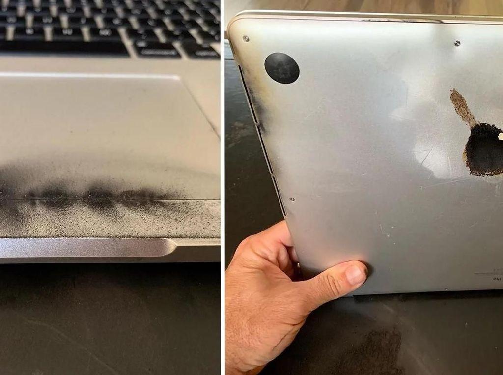 Bukti Baterai Bermasalah, MacBook Pro 15 Meleduk