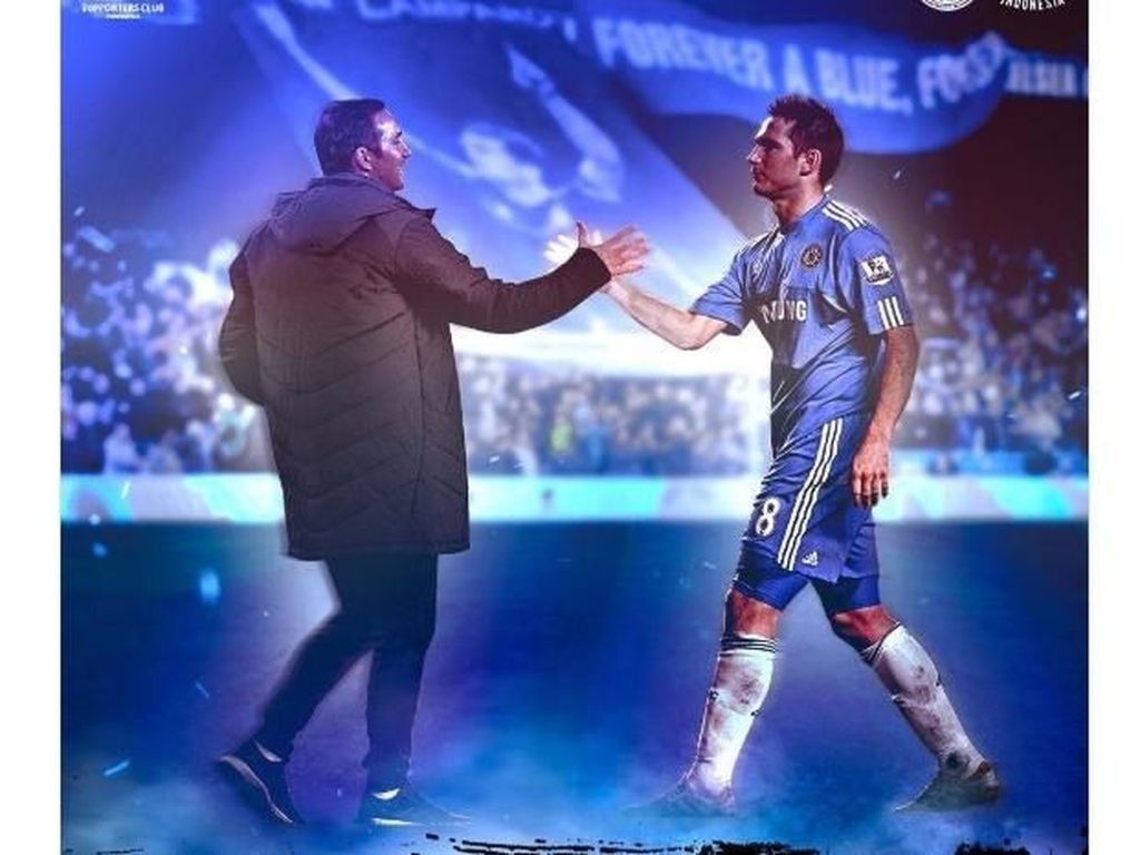 Netizen Sambut Frank Lampard Jadi Manajer Baru Chelsea