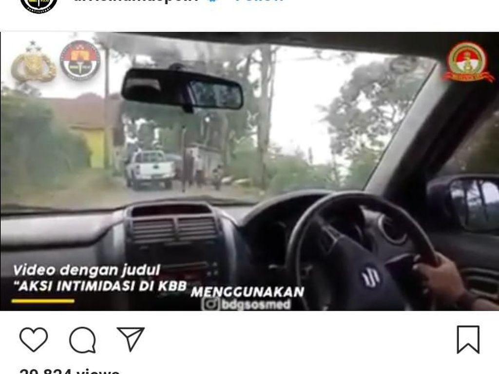 Terungkap! Koboi Todong Pria Disabilitas di Lembang Ternyata Polisi
