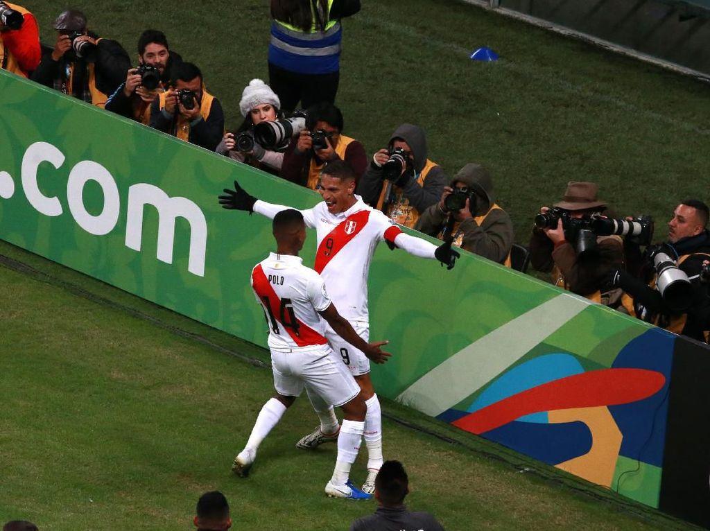 Peru Dibantai Brasil 0-5 di Fase Grup, Kini Malah Jumpa di Final