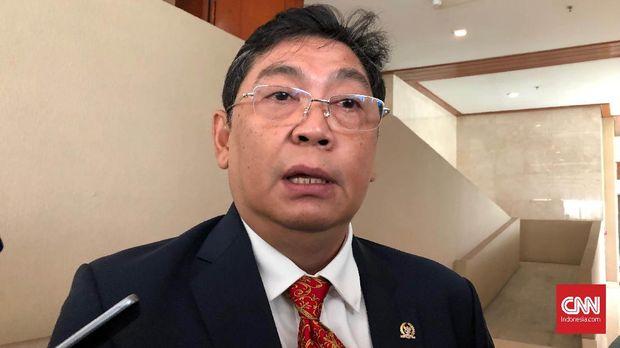 Wakil Ketua DPR, Utut Adianto saat ditemui di Kompleks MPR/DPR, Jakarta