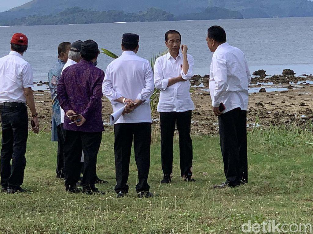 Blusukan ke Sulut, Jokowi Sambangi KEK Tanjung Pulisan