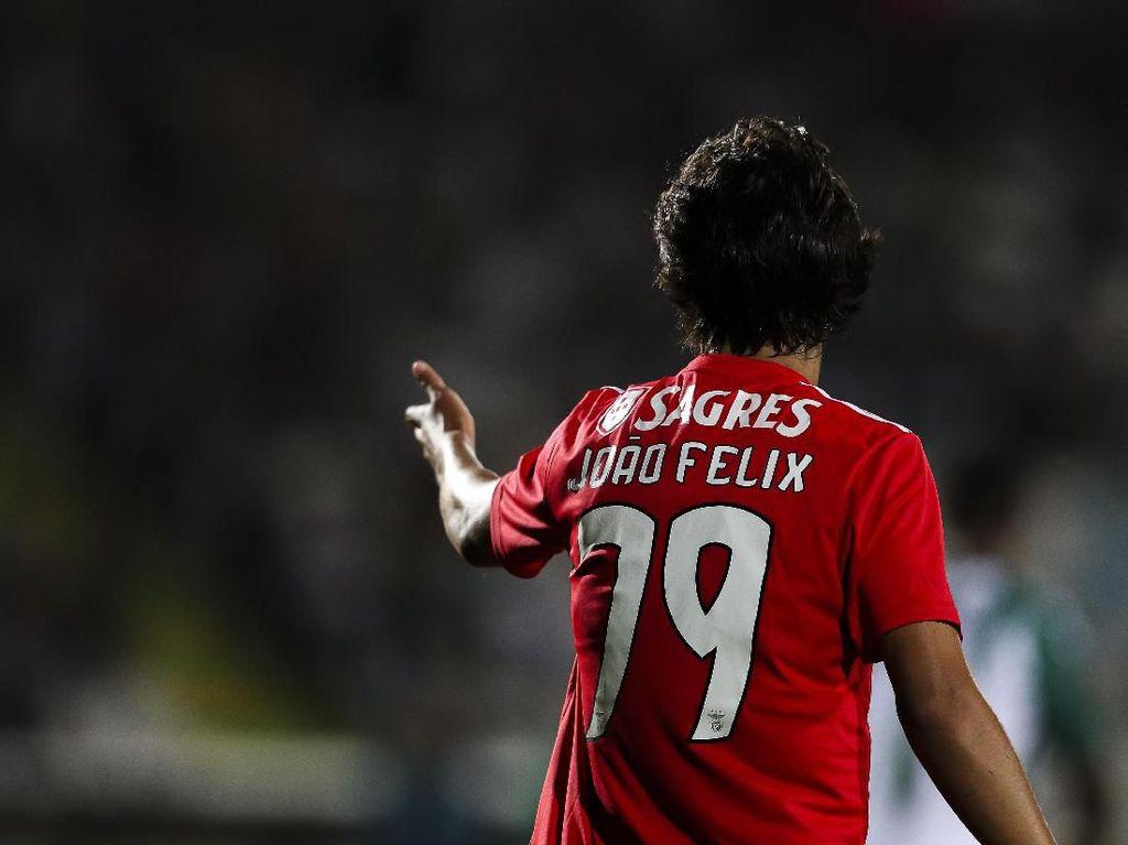 Mesin Uang Benfica Bekerja Lagi, Kini Giliran Joao Felix