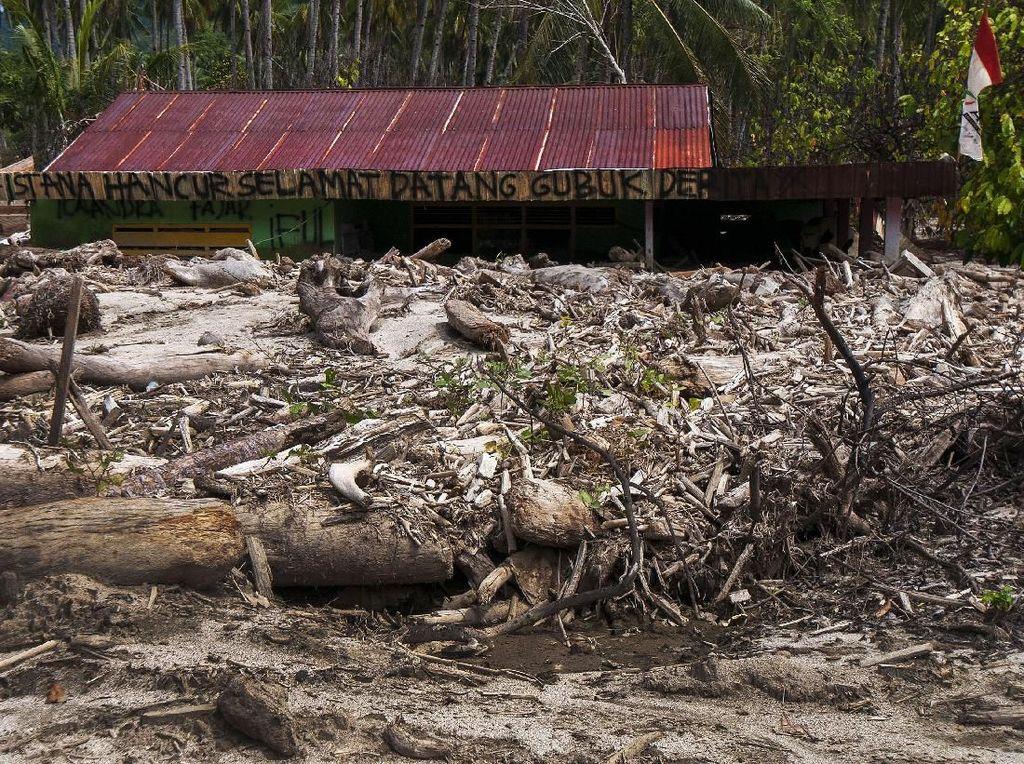 Potret Desa Bangga Sulteng yang Porak-poranda Akibat Banjir