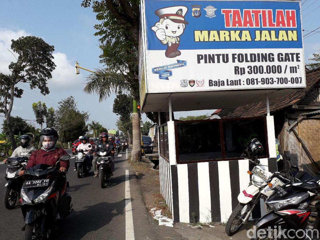 Penembak Pospol Kulon Progo Diburu, Polisi Cek CCTV
