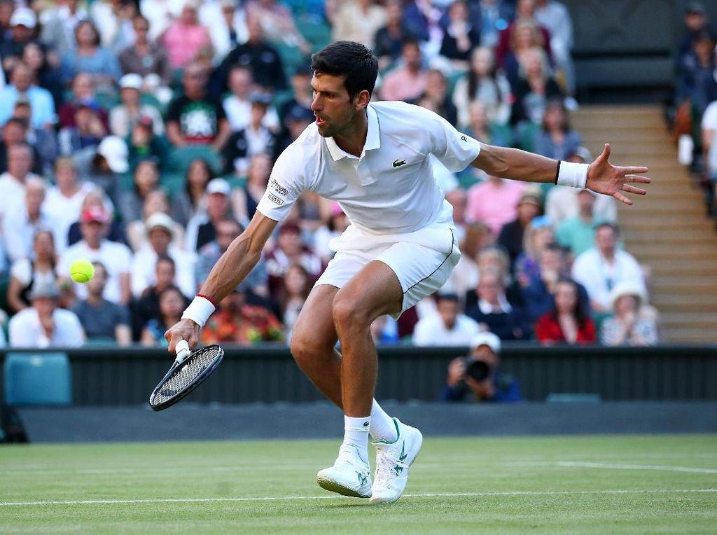 Menang Straight Set Lagi, Djokovic Pijak Babak Ketiga Wimbledon