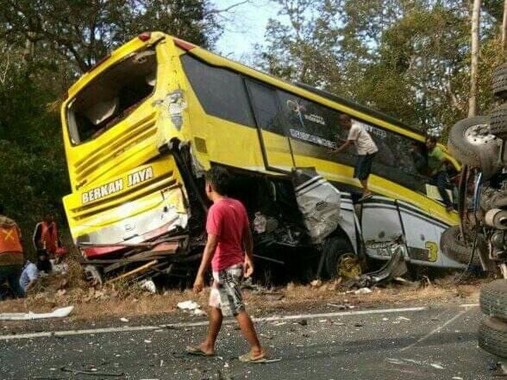 Kecelakaan di Baluran Situbondo Diduga Akibat Rem Blong