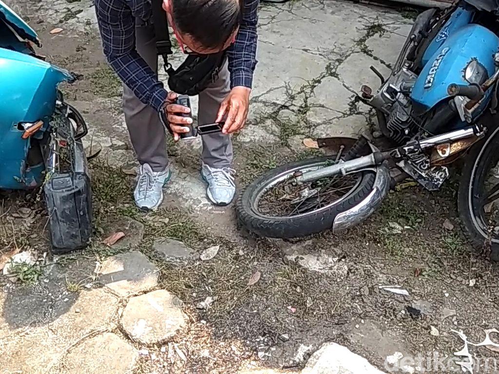Pecahan Kaca Bom Molotov di Magelang Dikirim ke Lab Forensik Semarang