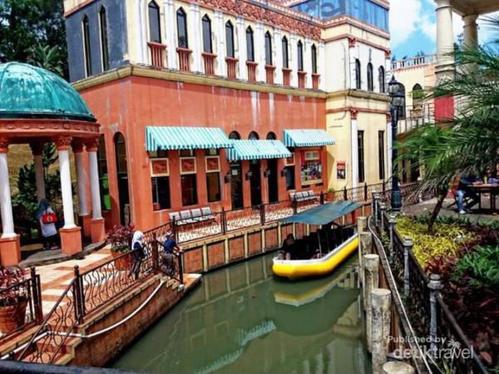 Ini Replika Venesia di Puncak Bogor