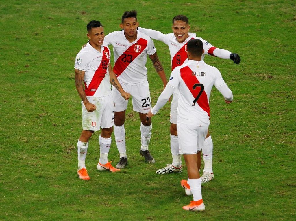 Hasil Copa America: Bekuk Chile, Peru Tantang Brasil di Final