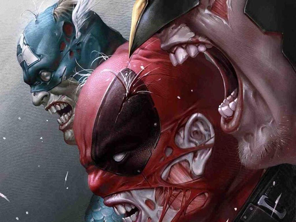 Ada Captain America, Deadpool hingga Wolverine Jadi Zombie