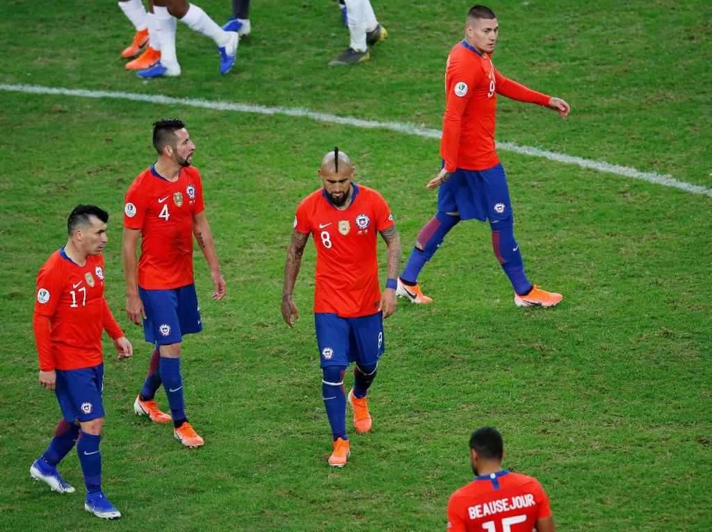 Berebut Tempat Ketiga dengan Argentina, Chile Kurang Semangat