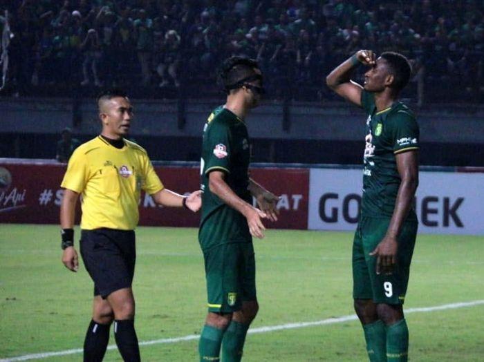 Laju buruk Persebaya Surabaya saat tandang di Liga 1 2019 berlanjut pasca kalah dari Arema FC. (Foto: Istimewa)