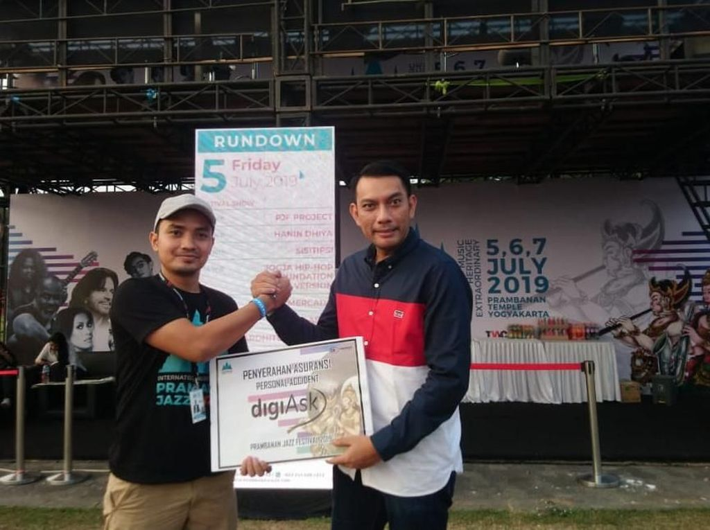 Askrindo Dukung Prambanan Jazz Festival 2019