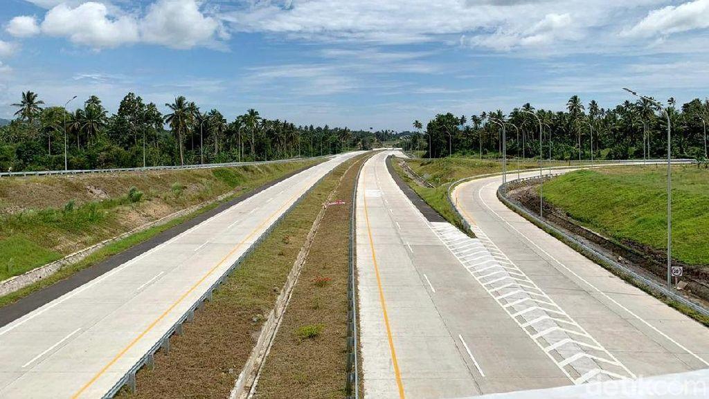 Dicek Jokowi, Ini Penampakan Tol Manado-Bitung 39 Km