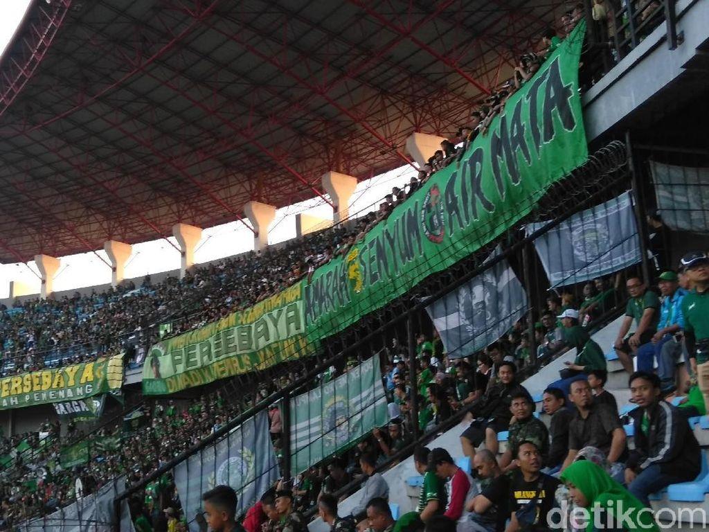 Jelang PSS Vs Persebaya, Polisi Rekomendasikan Bonek Tak Hadir di Stadion
