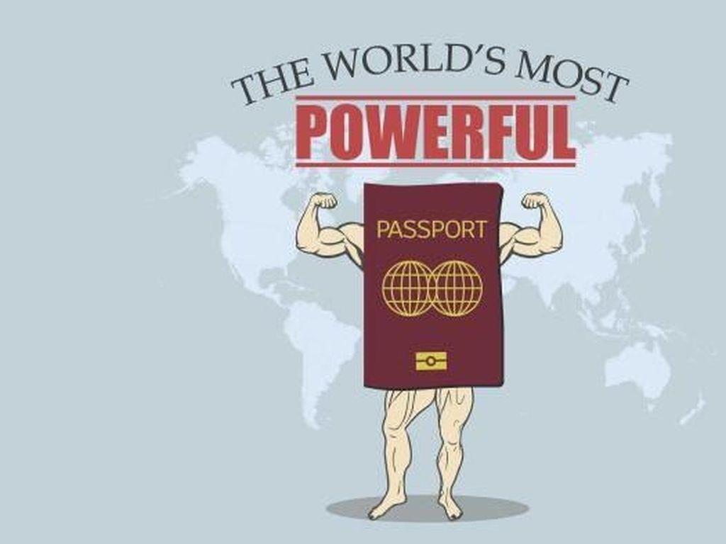 Paspor Amerika dan Inggris Menurun Kekuatannya, Indonesia Peringkat 75