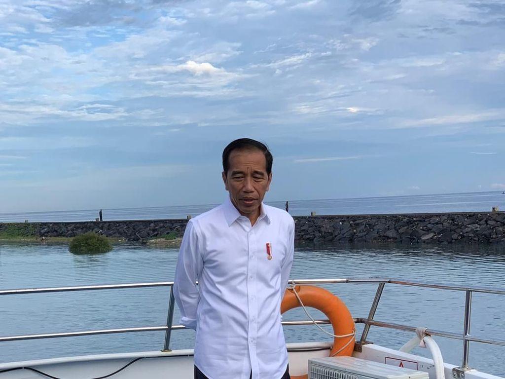 Jokowi Mau Sambungkan Tol Manado-Bitung ke Surga Tersembunyi