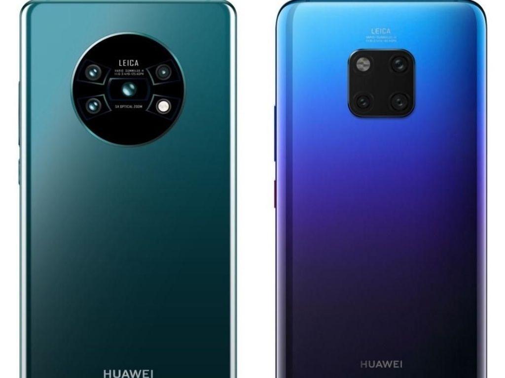 Jadwal Rilis Huawei Mate 30 Terungkap, Prosesornya Sangar