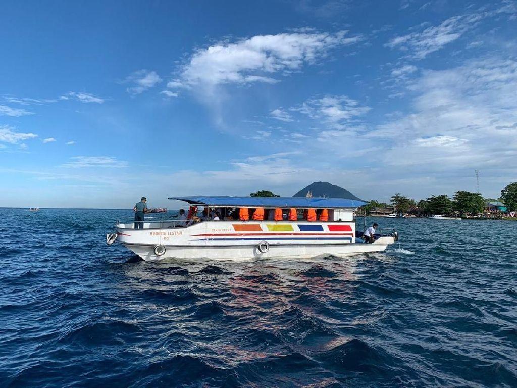 Wisatawan Berkurang di Taman Nasional Bunaken