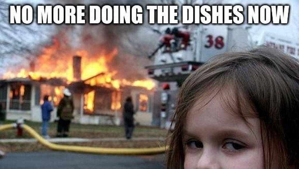 Ingat Gadis Cilik di Meme Disaster Girl? Begini Sosoknya Sekarang