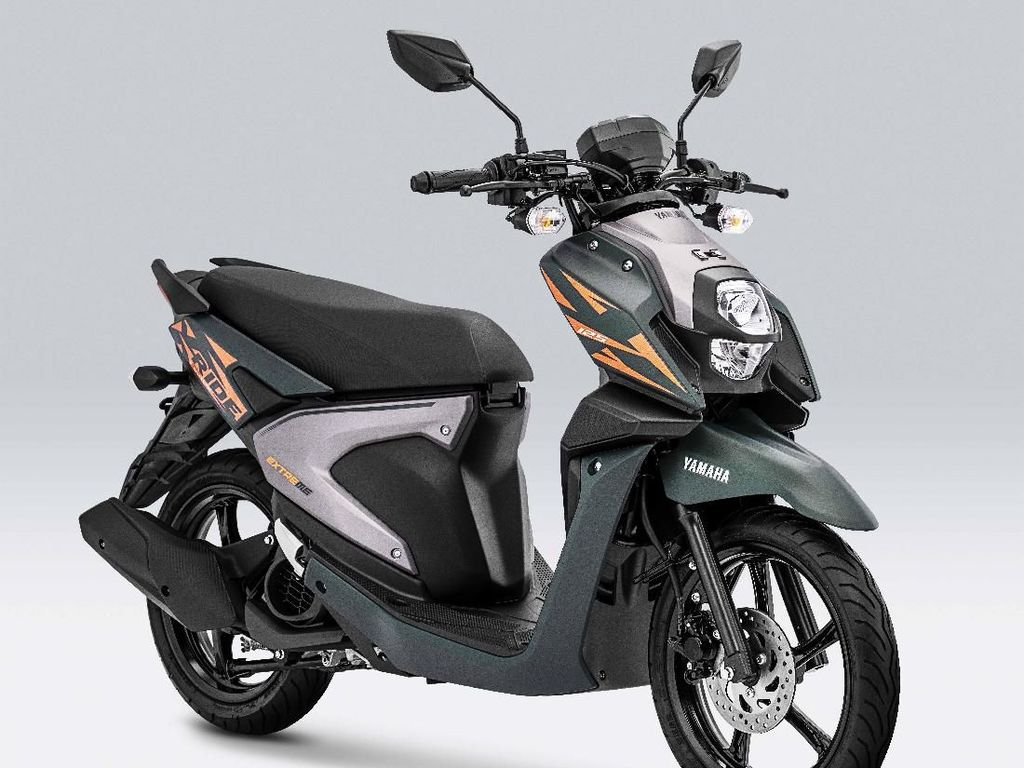 Warna-warna Baru Yamaha X-Ride