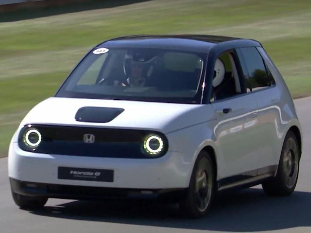 City Car Listrik Honda Mulai Jalan-jalan