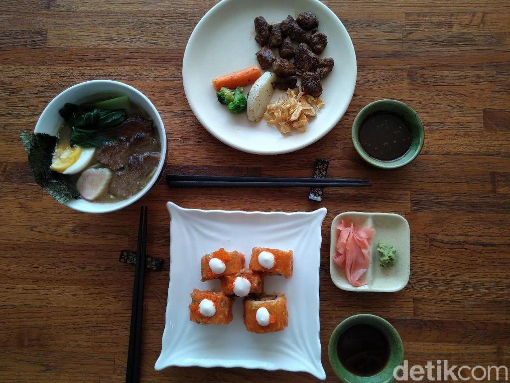 KOJU : Gurih Juicy Saikoro Beefsteak dengan Saus Spesial