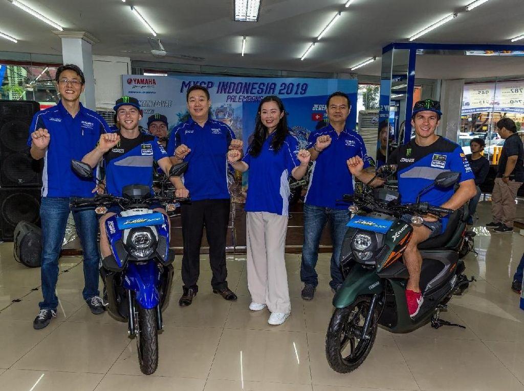 Dua Warna Baru Yamaha X-Ride