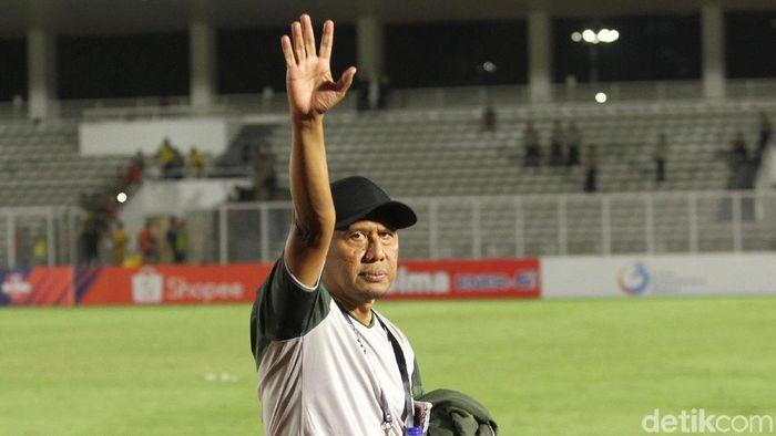 Rahmad Darmawan meminta pemainnya bisa menjaga emosi saat bertanding (Rifkianto Nugroho/detikSport)