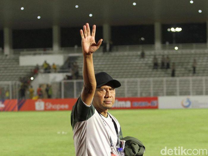 Pelatih Tira Persikabo, Rahmad Darmawan, menilai anak asuhnya sempat kehilangan kepercayaan diri hingga puasa kemenangan. (Foto: Rifkianto Nugroho/detikSport)