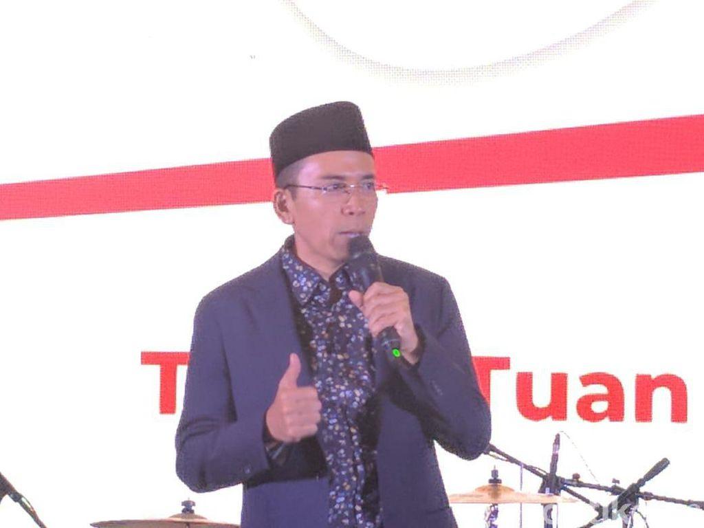 Bicara Teladan Jokowi di Pilpres 2019, TGB Cerita Kisah Nabi Yusuf