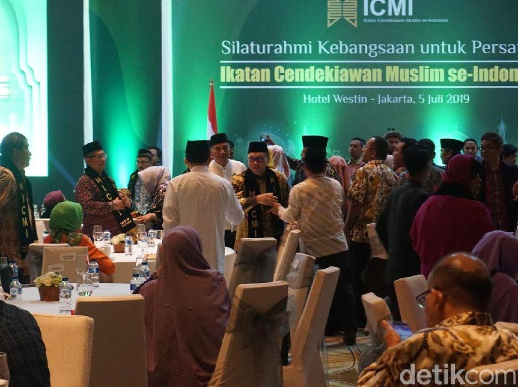 Jusuf Kalla hingga Zulkifli Hasan Hadiri Halalbihalal ICMI