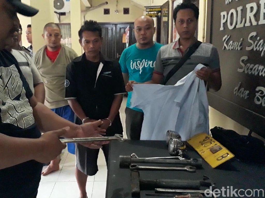 Kelabui Polisi, Komplotan Pencuri Bawa Kabur Truk Tronton