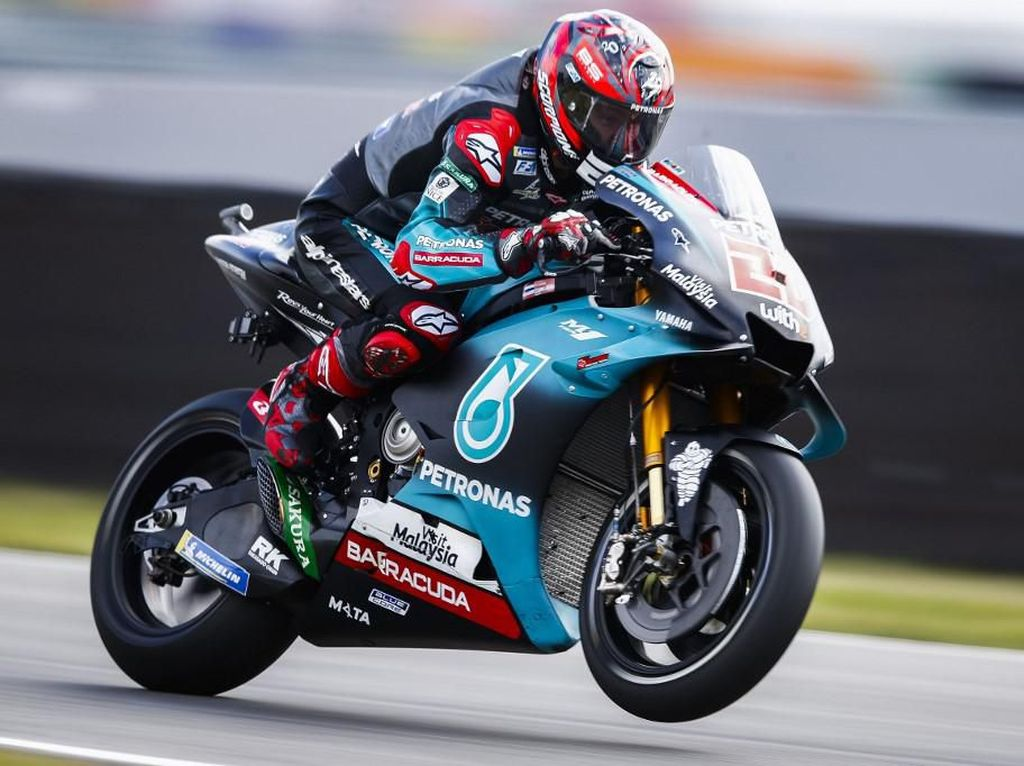 Kalahkan Marquez, Quartararo Tercepat di FP1 MotoGP Jerman