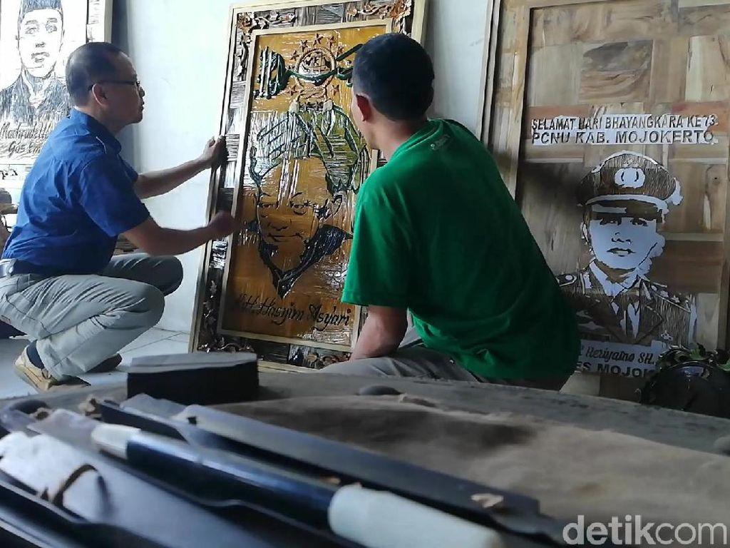 Sulap Limbah Kayu Jadi Karya Bernilai Tinggi, Saiful Berharap Punya Galeri