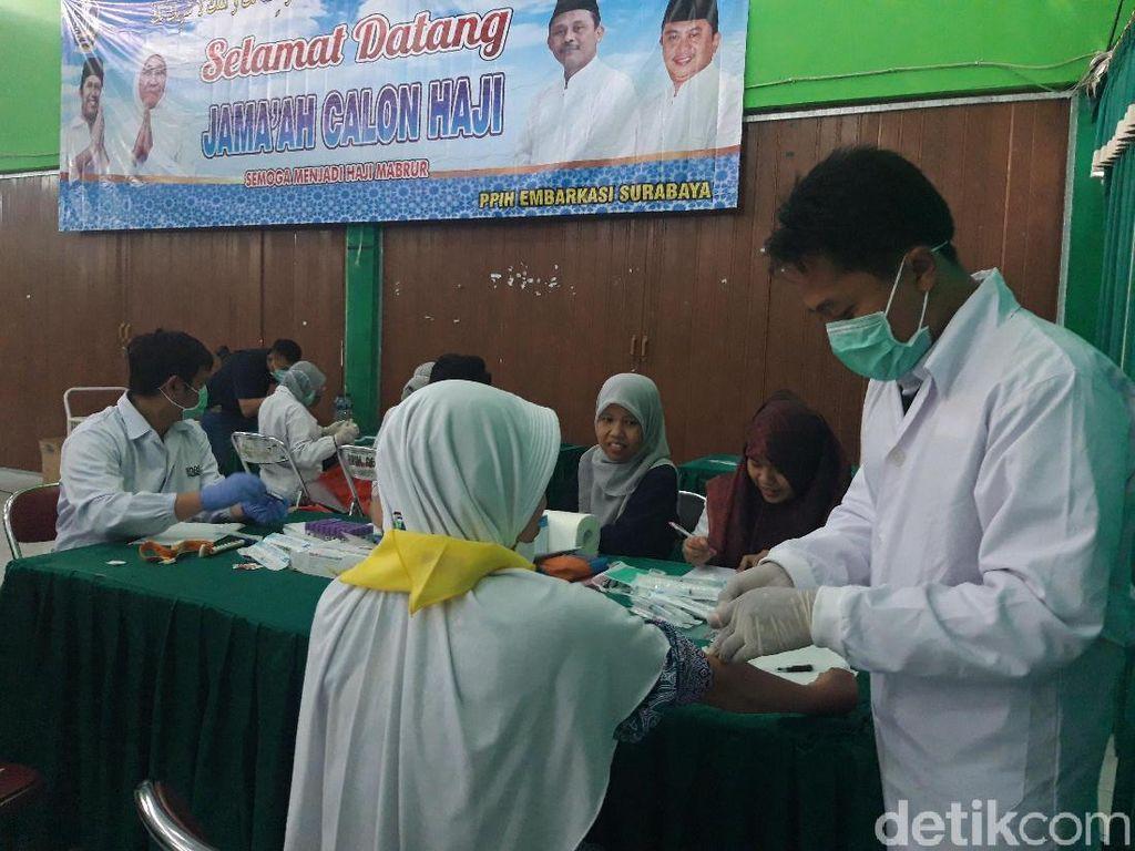 Calhaj Asal Pacitan yang Terkena Hepatitis A Tetap Diberangkatkan
