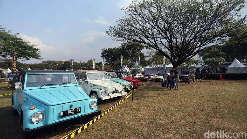 Surga Pencinta Otomotif, Mobil dan Motor Jadul Ikut Nimbrung