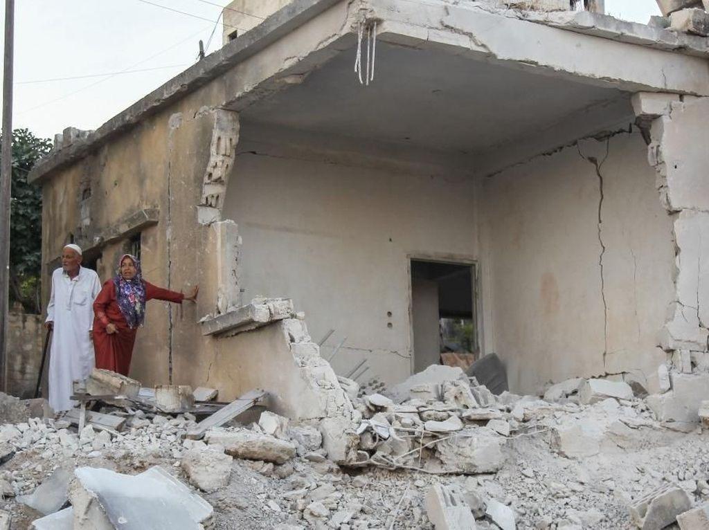 Serangan Udara Rezim-Rusia Tewaskan 12 Orang di Suriah